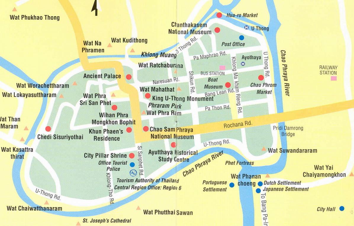 Ayyuthaya Map