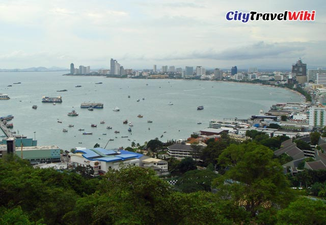 Pattaya Beach from Viewpoint
